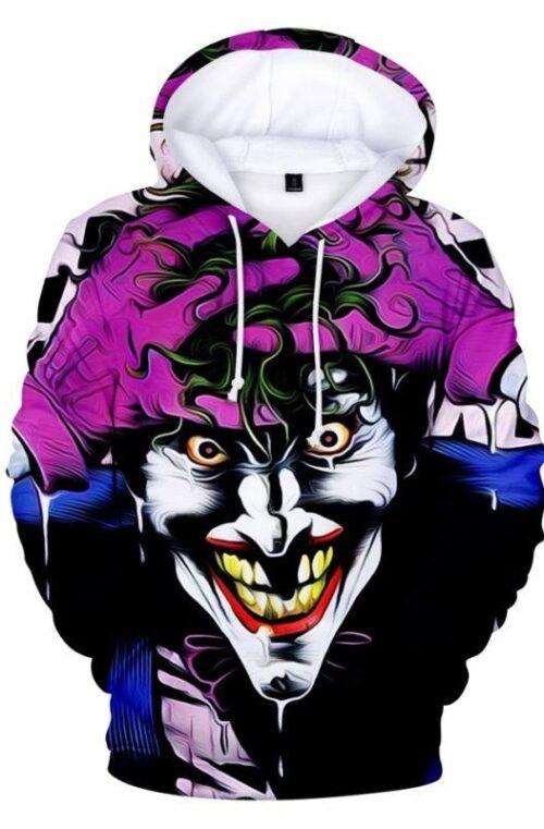 Joker 3D Huvtröja