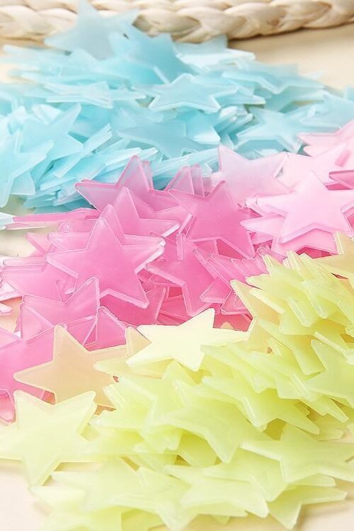 Självlysande Stjärnor (100st)