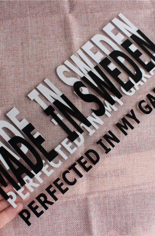 Made In Sweden Bildekal