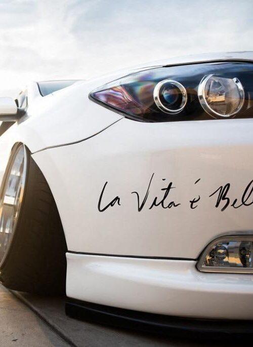 'La vita è Bella' Bildekal