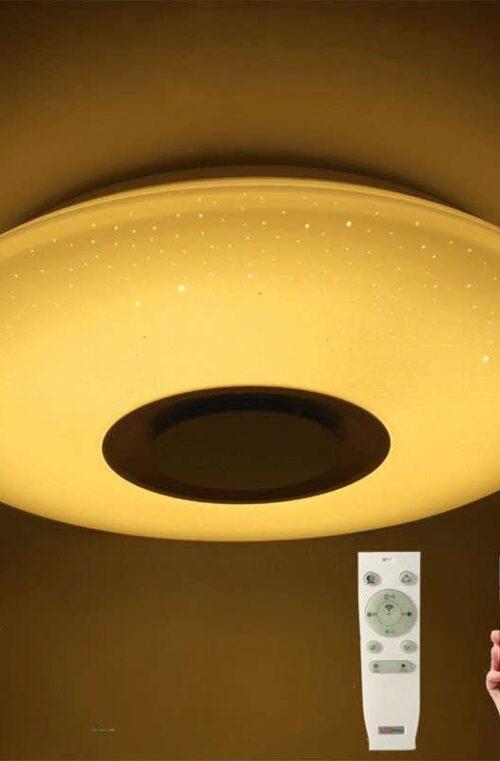 Lampa med Bluetooth Högtalare