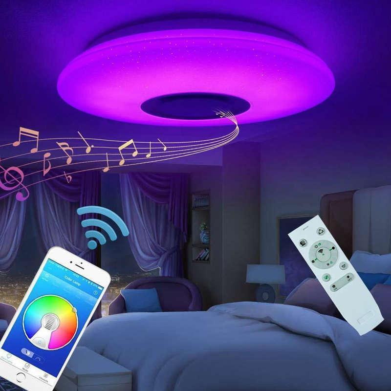 Avancerad Musiklampa med Bluetooth Högtalare