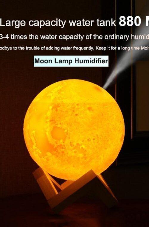 3D 'Moonlight' Luftfuktare