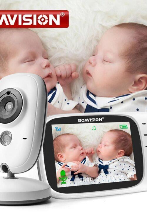 Babymonitor med Kamera