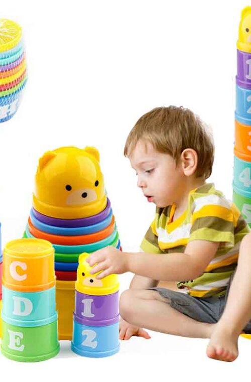 Pedagogiska babyleksaker