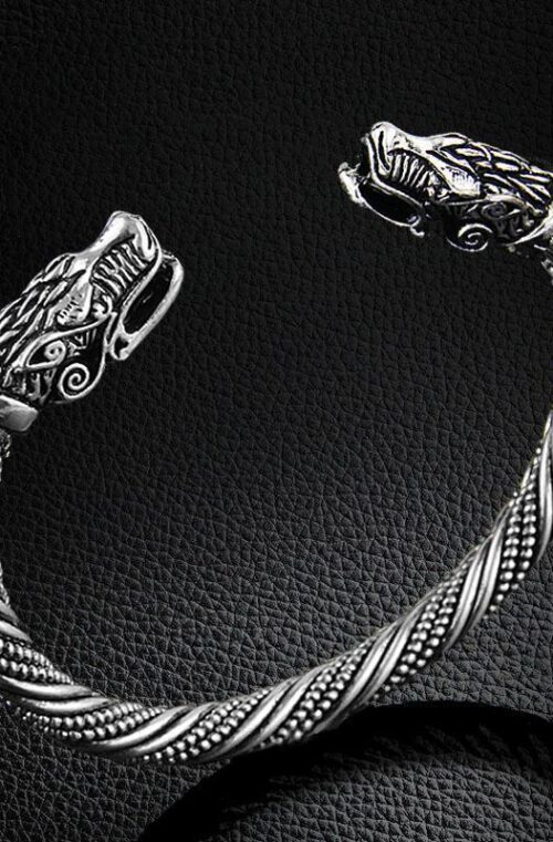 LAKONE 'Viking Snake' Armband Herr