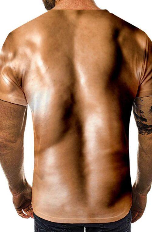 T-Shirt med Muskler