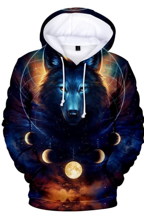 'Wolf' 3D Hoodies