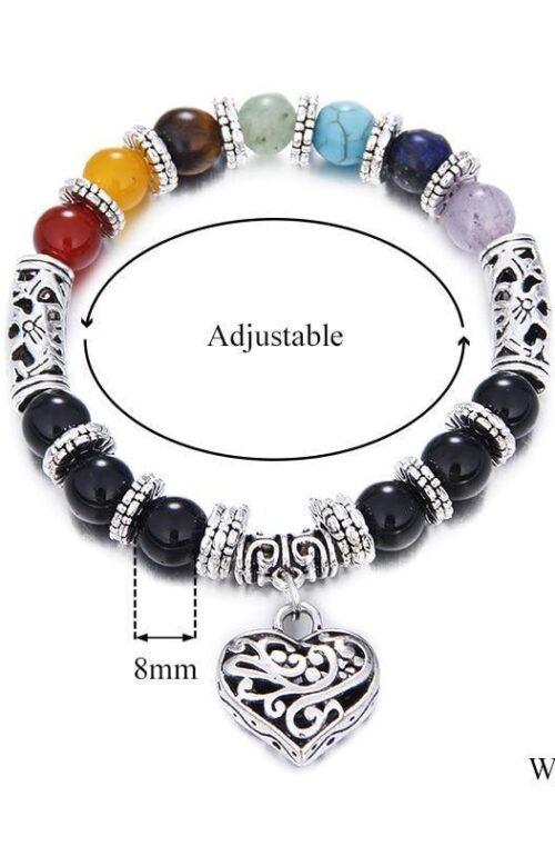 Healing Chakra Unisex Armband