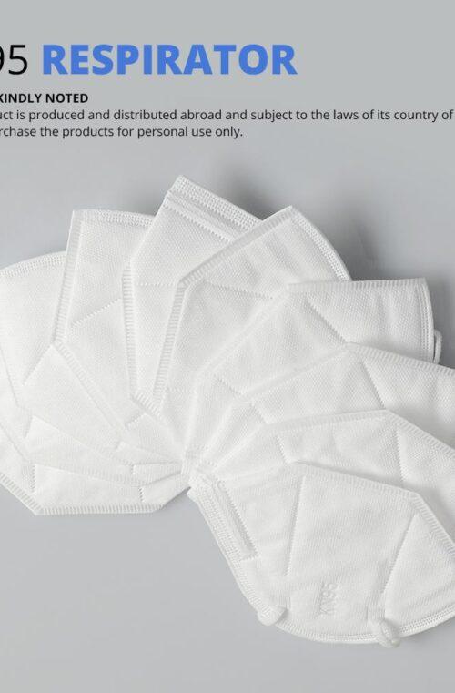 Anti-Coronavirus KN95 4-lagers Skyddsmasker 10st