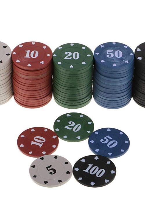 Pokerchips (100st)