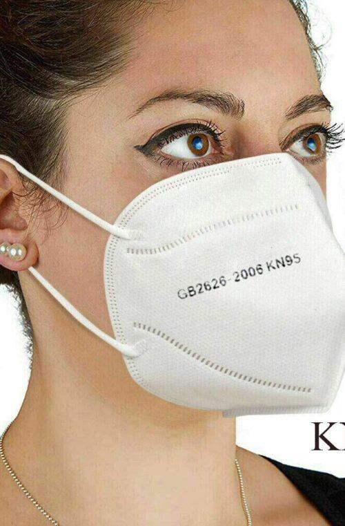 KN95 Anti-Coronavirus Återanvändbara Ansiktsmasker 1-10st