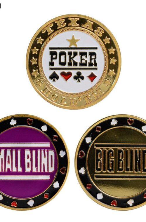 Dealer-knappar (3st)