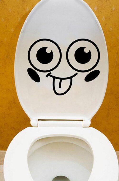 Toalettdekaler