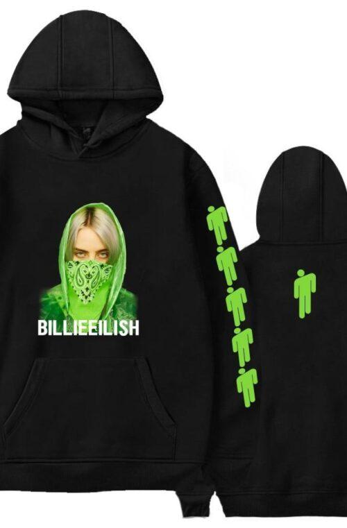 Billie Eilish Hoodie - 6 färger