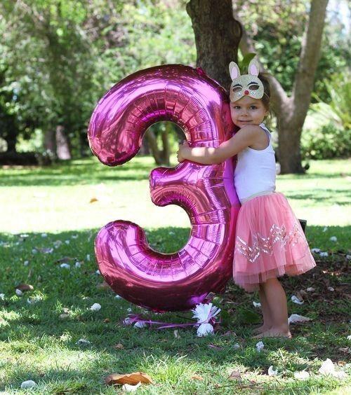 Jätteballonger - Siffror