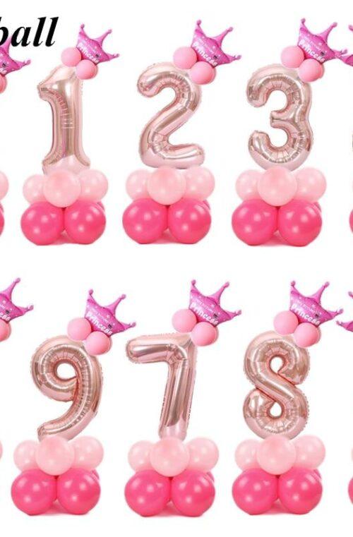 Jätteballonger (Födelsedagskalas)