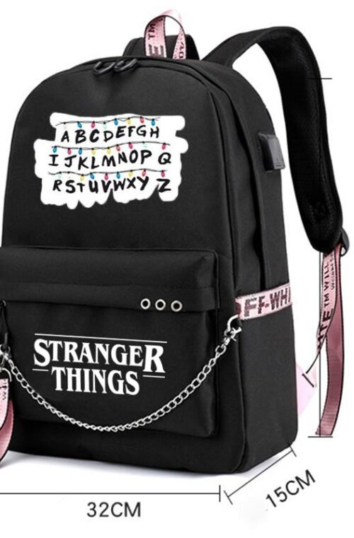 Billie Eilish Stranger Things Ryggsäck