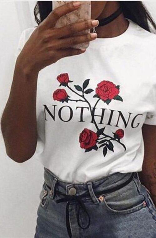 'De Tre Aporna' T-Shirt Dam