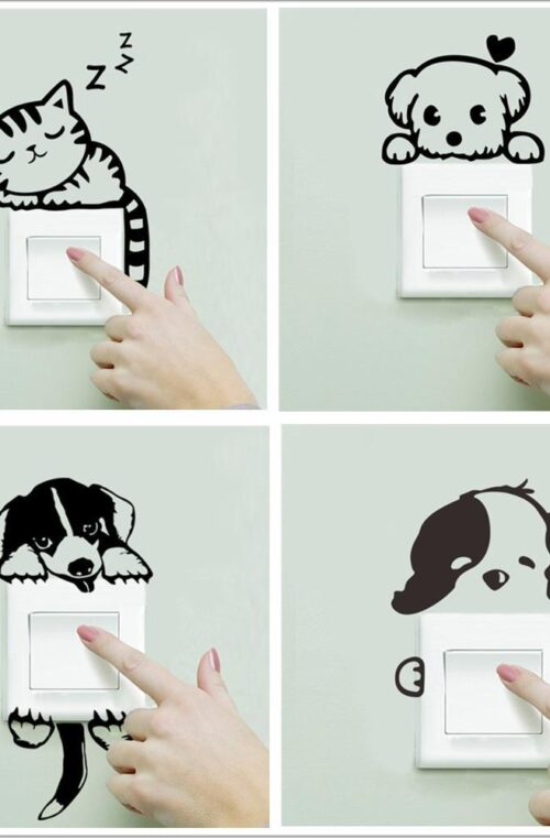 Väggdekoration Minidjur