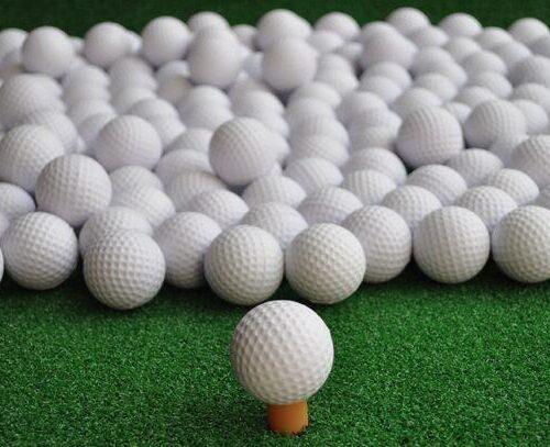 Golfbollar - Skumplast (100st)