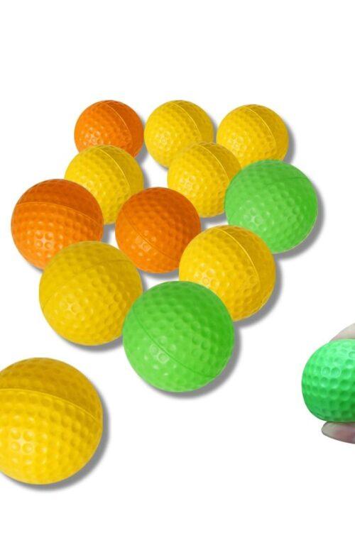 Golfbollar - Skumplast (12st)