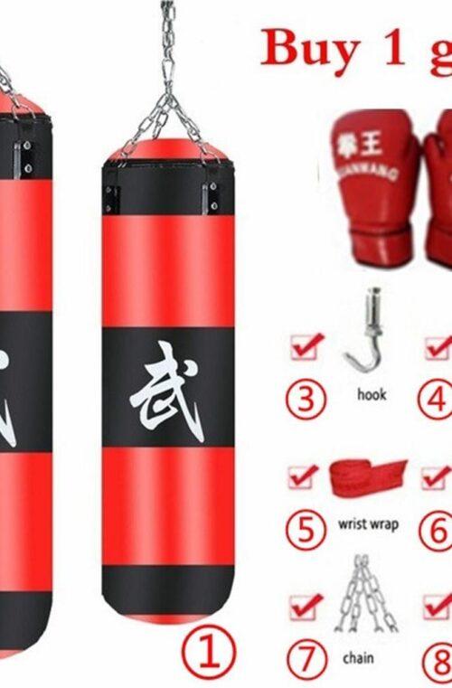 Boxningssäck (med Handskar)
