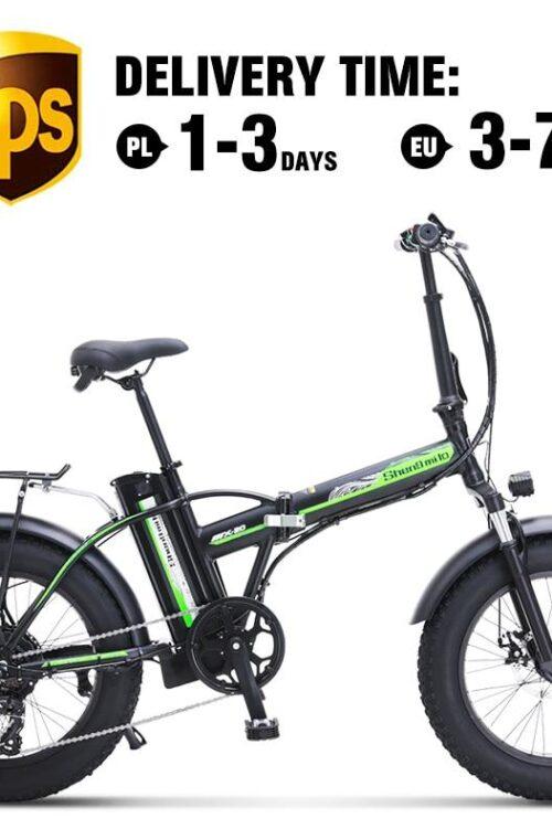 500W 4.0 Fat Tire Elcykel