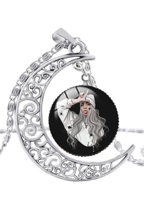 Billie Eilish Moon Halsband