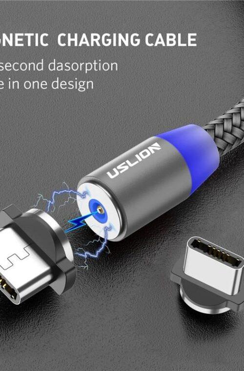Magnetisk USB-Kabel