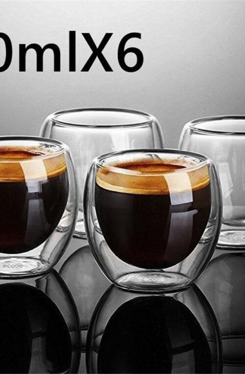 Värmebeständiga Espressokoppar