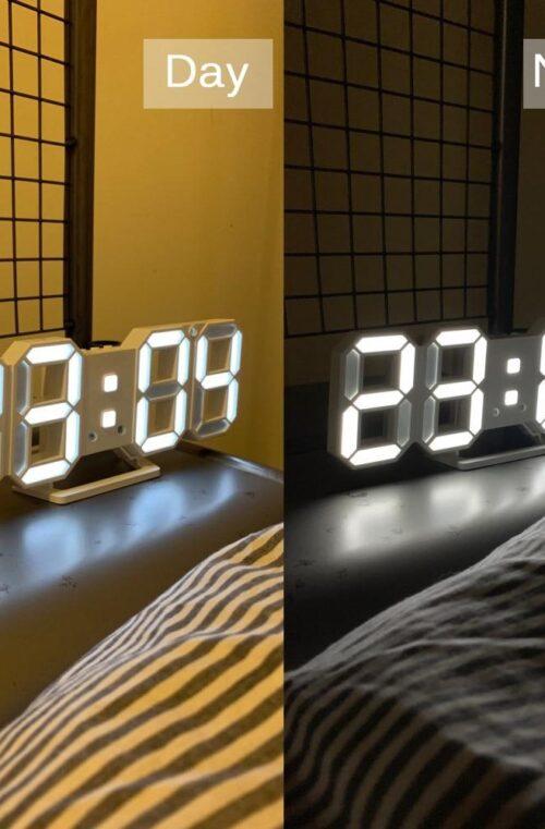 Digital LED Väggklocka
