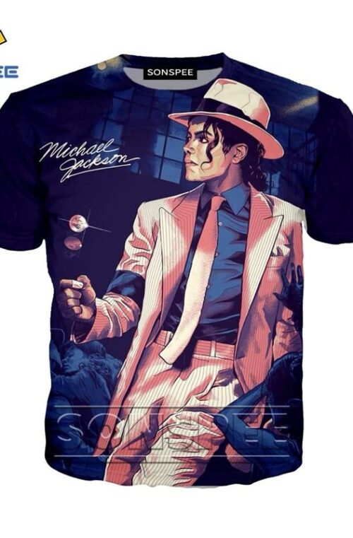 Anime Michael Jackson T-Shirt