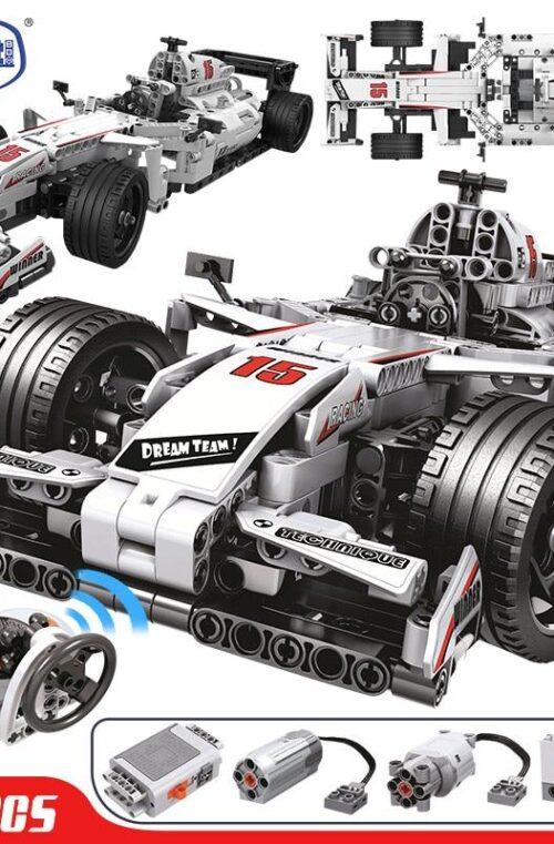 Radiostyrd Formel 1 Bil (729 Delar)