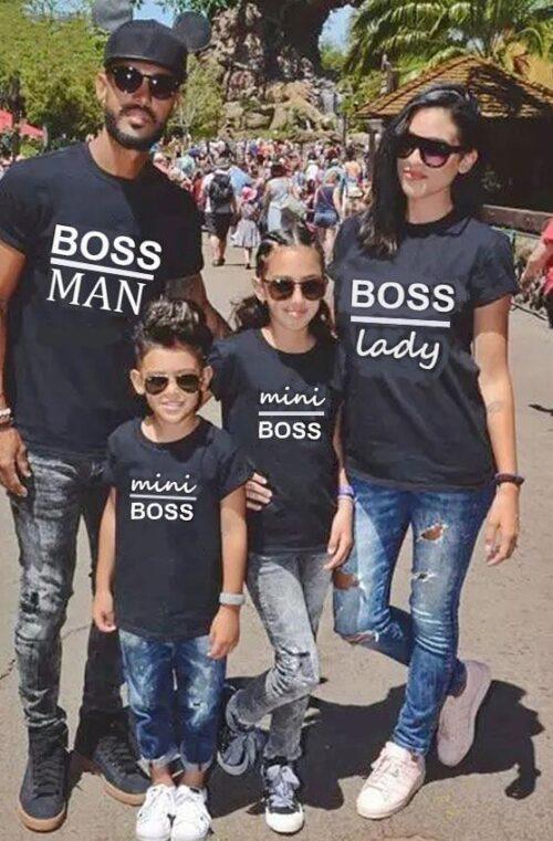'Boss' Matchande Familjekläder