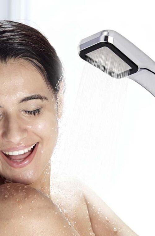 Vattenbesparande Duschmunstycke