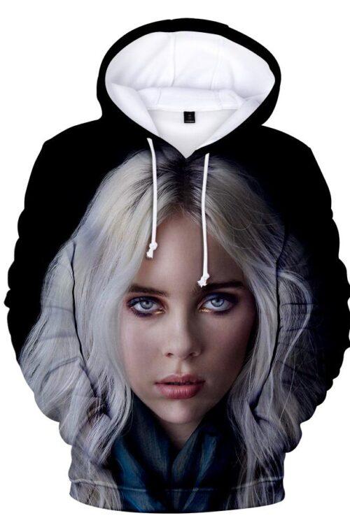Billie Eilish 'Famous' 3D Hoodie