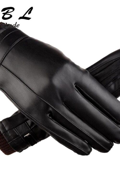Läderhandskar