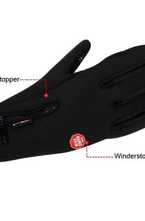 Vindtäta Handskar (Unisex)
