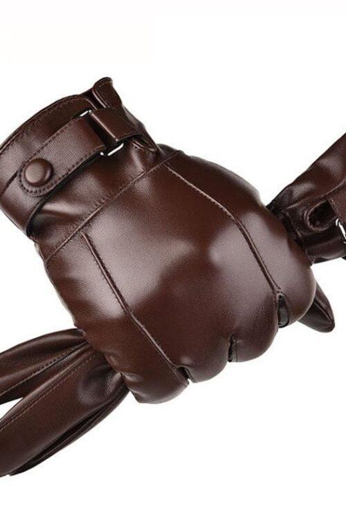 Läderhandskar för Män