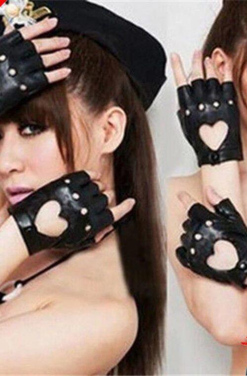 Halvfingerhandskar för Kvinnor