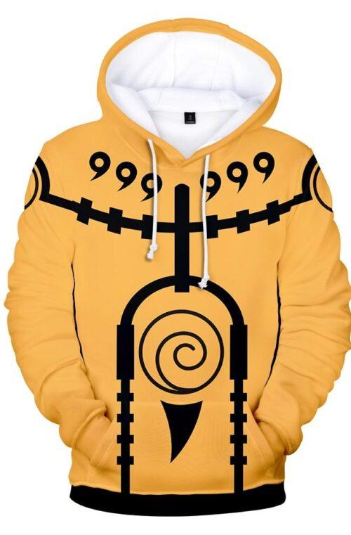 Naruto 3D Hoodie