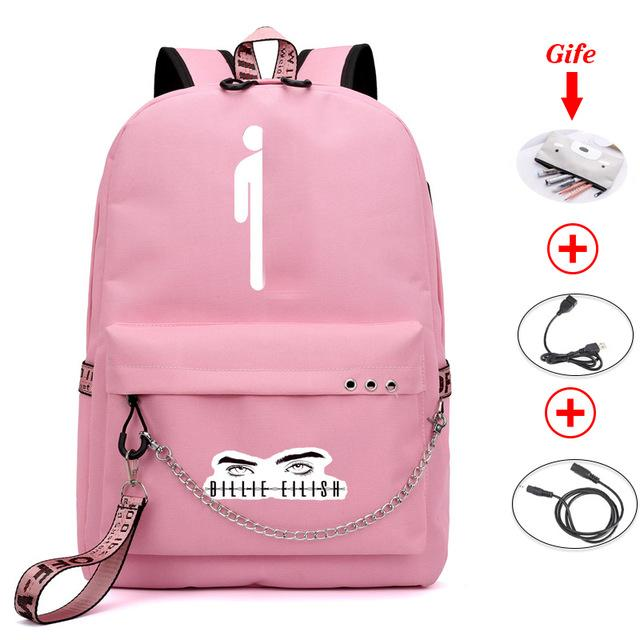 Billie eilish luminous backpack | School bags for girls