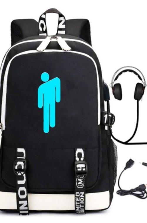 Billie Eilish USB Ryggsäck