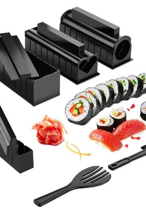 Äkta Japanskt Sushi Set (10 delar)