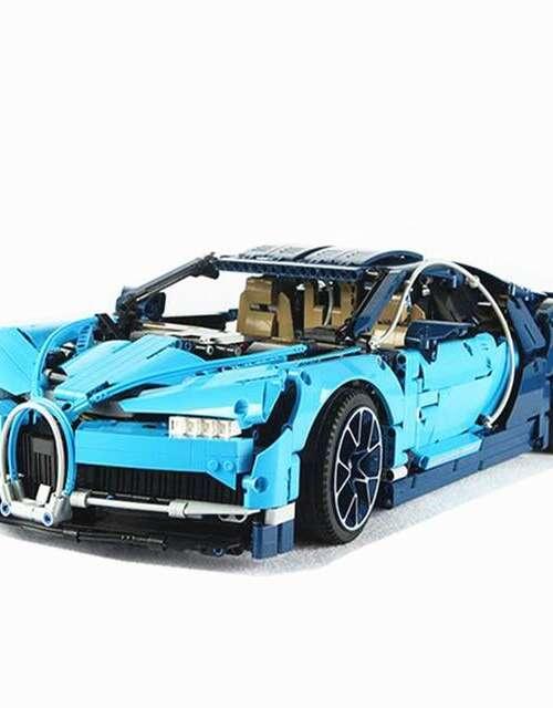 Bugatti CHIRON Byggklossar