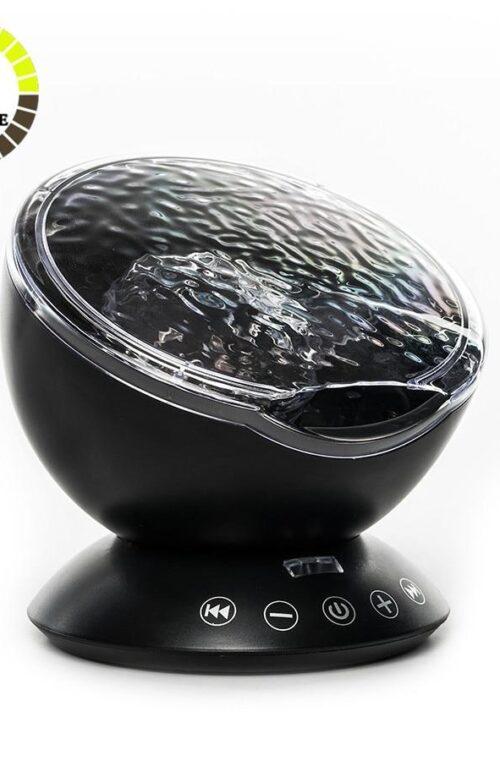 LED Lampa med Fjärrkontroll & Högtalare