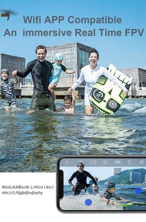 EACHINE E58 Vidvinkel HD 1080P/720P/480P Drönare