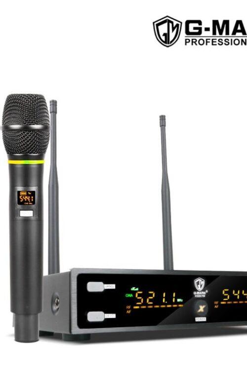 Karaoke Set (med Trådlösa Mikrofoner)