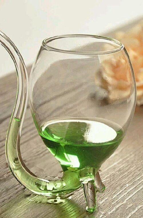 Drinkglas med Glasrör